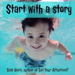 start w story text image
