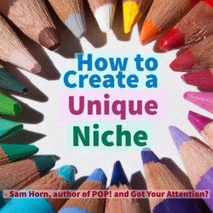 create a unique niche