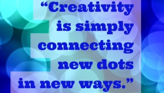 creativity connecting new dots - middle