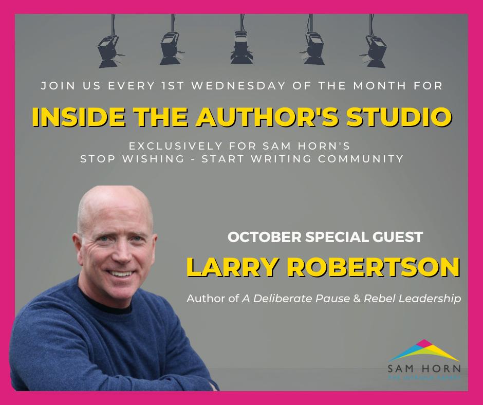 Inside the Author's Studio Promo Image
