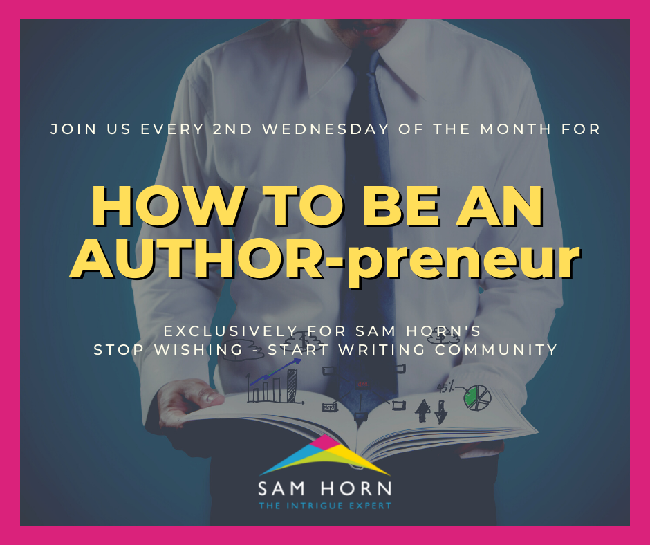 How to be an AUTHOR-Preneur